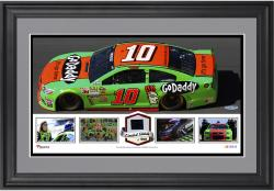 "Danica Patrick Framed 15"" x 17"" Collage with Race-Used Tire"