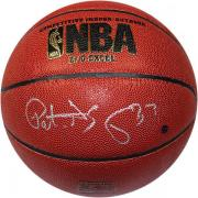 Patrick Ewing Signed I/O Basketball (Signed in Silver)