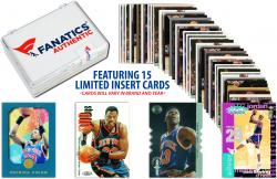 Patrick Ewing New York Knicks Collectible 15 Card Insert / Limited Edition Lot