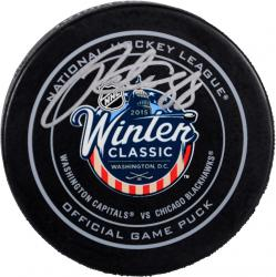 Patrick Kane Chicago Blackhawks Autographed 2015 Winter Classic Official Game Puck