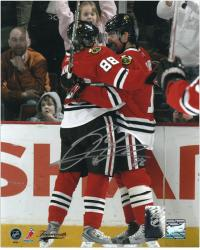 Chicago Blackhawks Patrick Kane Autographed 8'' x 10'' Photo - Mounted Memories