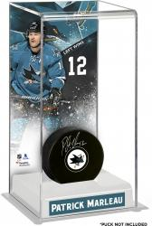 Patrick Marleau San Jose Sharks Deluxe Tall Hockey Puck Case