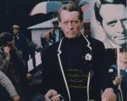 Patrick Mcgoohan Signed Autographed Color Photo The Prisoner To Helen Rare!