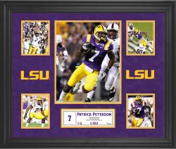 Patrick Peterson LSU Tigers Framed 5-Photo Collage