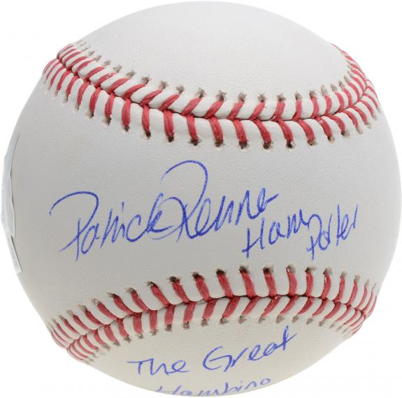 Patrick Renna The Sandlot Autographed Baseball with Multiple Inscriptions