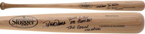 Patrick Renna The Sandlot Autographed Blonde Bat with Multiple Inscriptions