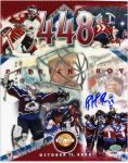 "Colorado Avalanche Patrick Roy Autographed 8'' x 10"" Photo - Mounted Memories"
