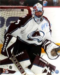 "Patrick Roy Colorado Avalanche Autographed 16"" x 20"" Photo"