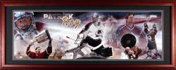 Colorado Avalanche Patrick Roy Framed Panoramic Photo - Mounted Memories