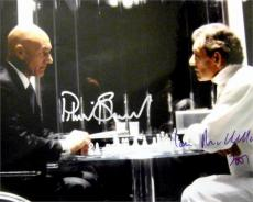 Patrick Stewart and Ian McKellen autographed 11x14 photo (X Men Magneto and Dr Xavier) image #NG1