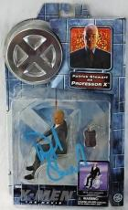 Patrick Stewart Signed X-men Professor X Figurine Psa/dna #q12578