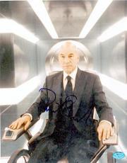Patrick Stewart autographed 8x10 photo (X- Men Prof. Charles Xavier )