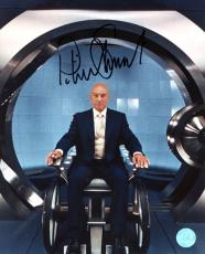 Patrick Stewart Autographed X-Men Movie Charles Xavier Cerebro 8x10 Photo