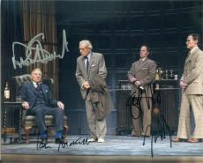 Patrick Stewart Ian McKellen Billy Crudup Shuler Hensley autographed 8x10 photo (No Mans Land Waiting for Godit) Image #SC2