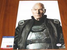 Patrick Stewart Signed 11x14 X-Men Professor Charles Xavier PSA/DNA
