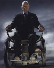 Patrick Stewart Signed Autographed Color X-men Photo Professor X