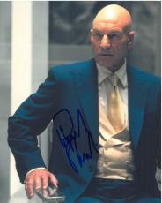 Patrick Stewart Signed X-Men Authentic Autographed 8x10 Photo JSA COA #F70523