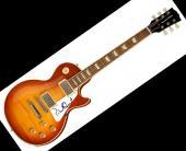 Patrick Stewart Autographed Signed LP Guitar Uacc Rd AFTAL