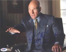 Patrick Stewart X-Men Autographed Signed 8x10 Photo Certified Authentic PSA/DNA