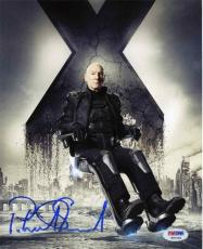 Patrick Stewart X-Men Autographed Signed 8x10 Photo Certified PSA/DNA COA