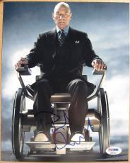Patrick Stewart X-Men signed 8x10 photo PSA/DNA autograph