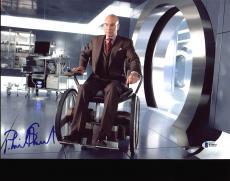 Patrick Stewart X-Men Signed 9.5x14 Photo Autographed BAS #B38802