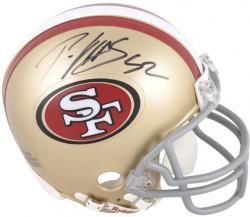 Patrick Willis San Francisco 49ers Autographed Riddell Mini Helmet