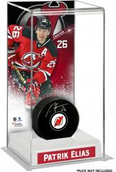 Patrik Elias New Jersey Devils Deluxe Tall Hockey Puck Case