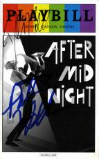 Patti Labelle Dule Hill Autographed After Midnight Playbill UACC RD AFTAL COA
