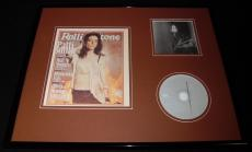Patti Smith 16x20 Framed Rolling Stone Cover & CD Display