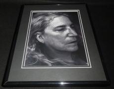 Patti Smith 2016 Framed 11x14 Photo Display