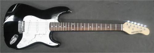 Patti Smith Hand Signed Auto Guitar Rock Star Punk Legend USA JSA V38855