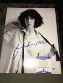 Patti Smith L Signed 11x14 Photo Rock Star Beckett Cert