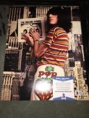 Patti Smith L Signed 11x14 Photo Rock Star Beckett Cert #2
