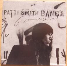 Patti Smith Rock and Roll HOF signed CD Cover Banga Beckett BAS Authentic