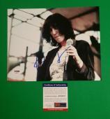 "Patti Smith Signed 8"" X 10"" Photo From Barnes & Noble Psa/dna Coa + Photo Proof"