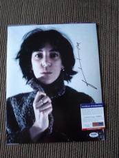 Patti Smith Signed Autographed 11x14 Photo PSA Certified