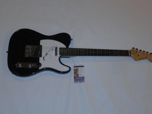 Patti Smith Signed Black Telecaster Electric Guitar Punk Legend Tele Jsa Coa