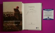 """Patti Smith Signed """"woolgathering"""" Book Bas Coa Authenticated And Photo Proof"""