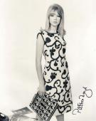 PATTIE BOYD SIGNED 8x10 PHOTO EX-WIFE GEORGE HARRISON ERIC CLAPTON BECKETT BAS