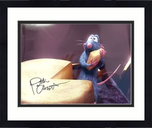 Patton Oswalt Ratatouille (Holding The Cheese) Signed 11x14 Photo JSA N35212