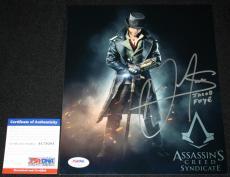 Paul Amos signed 8 x 10, Jacob Frye, Assassin's Creed, PSA/DNA