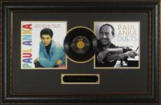Paul Anka Laser Engraved Signature DIANA Record Display