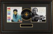 Paul Anka Laser Engraved Signature DIANA Record Display