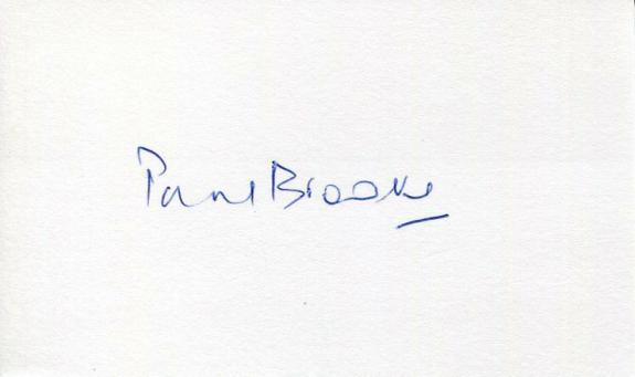 Paul Brooke Star Wars James Bond Bridget Jones's Diary Signed Autograph