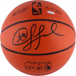 Chris Paul Los Angeles Clippers Autographed Spalding Indoor/Outdoor Basketball - Mounted Memories