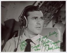 PAUL COMI HAND SIGNED 8x10 PHOTO+COA        CLASSIC TWILIGHT ZONE      TO DAVID