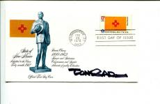 Paul Conrad Pulitzer Prize Cartoonist Artist Signed Autograph FDC