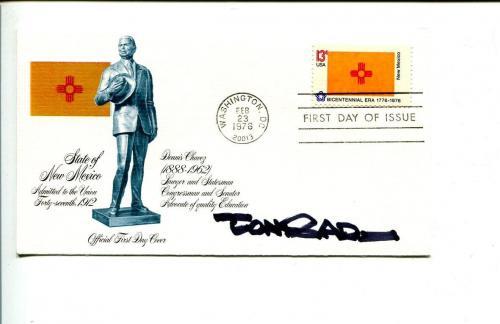 Paul Conrad Pulitzer Prize Cartoonist Artist Signed Autograph FDC