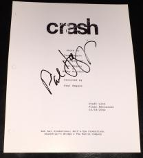 "Paul Haggis Signed Autograph New ""crash"" Full Movie Shooting Script With Coa"